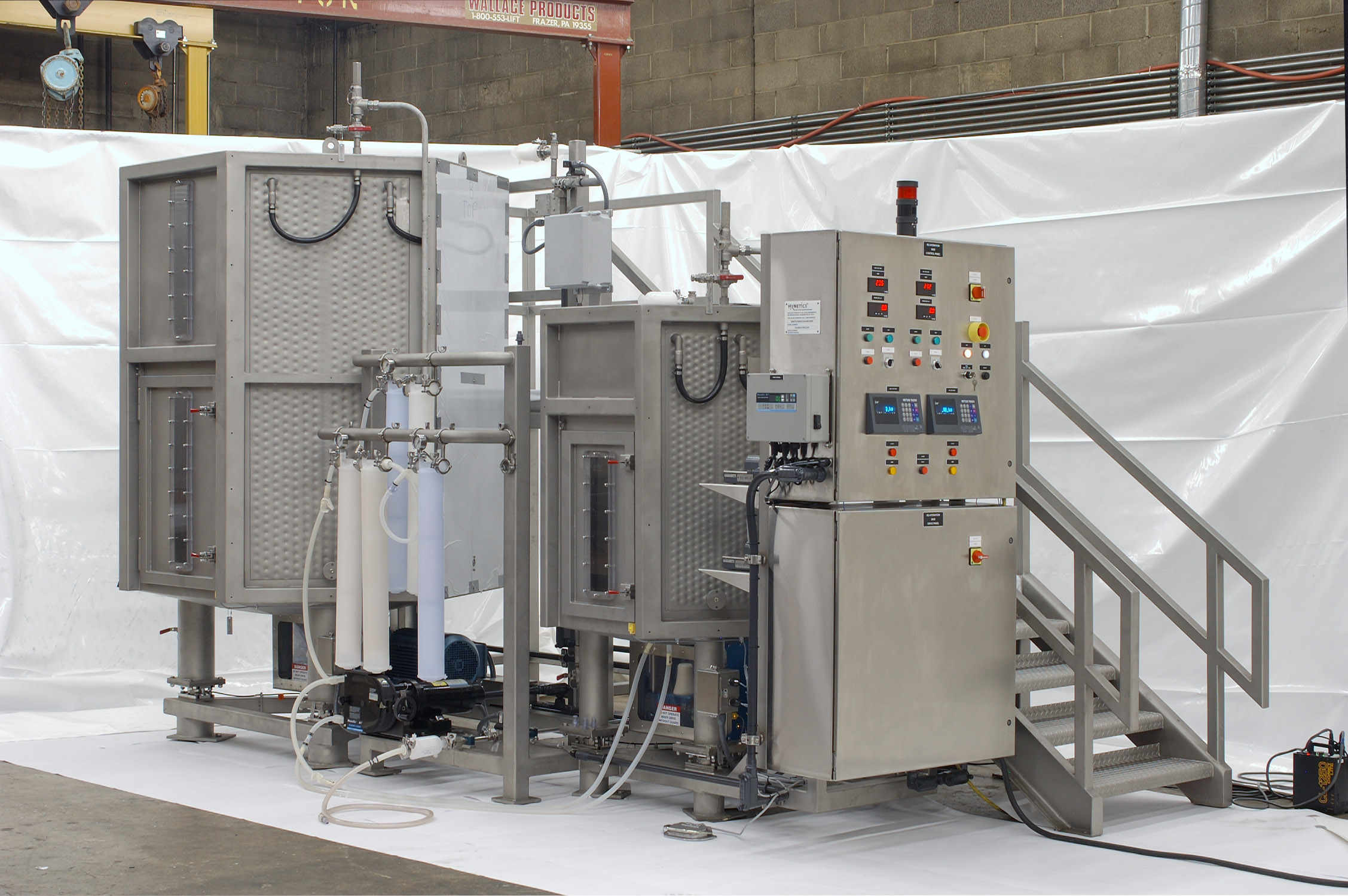 Before-Uncompleted Pharmaceutical Mixing Equipment